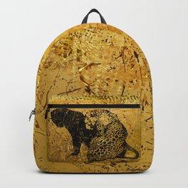 Gold Safari Backpack