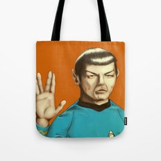 Mr. Spock Tote Bag