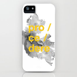 procedere iPhone Case