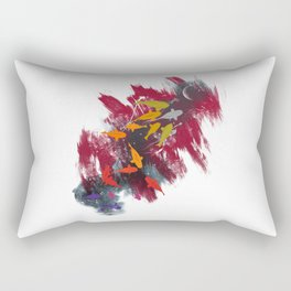 Aiming for the moon Rectangular Pillow