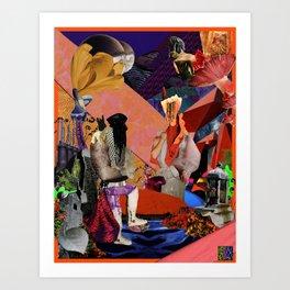 SERES II Art Print