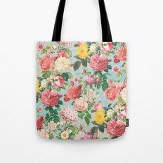 Floral B Tote Bag