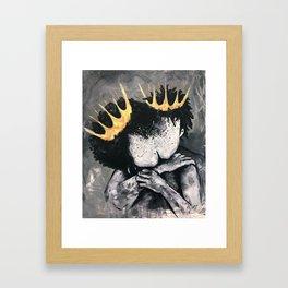Naturally Royalty Framed Art Print