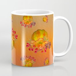 Fall Floral Squash Coffee Mug
