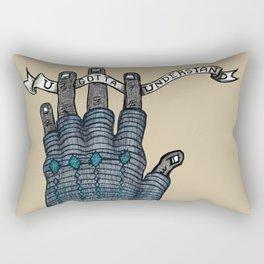 Understand Hand Rectangular Pillow