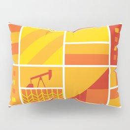 Geometric Prairies Pillow Sham