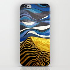 Sun and Tides iPhone & iPod Skin