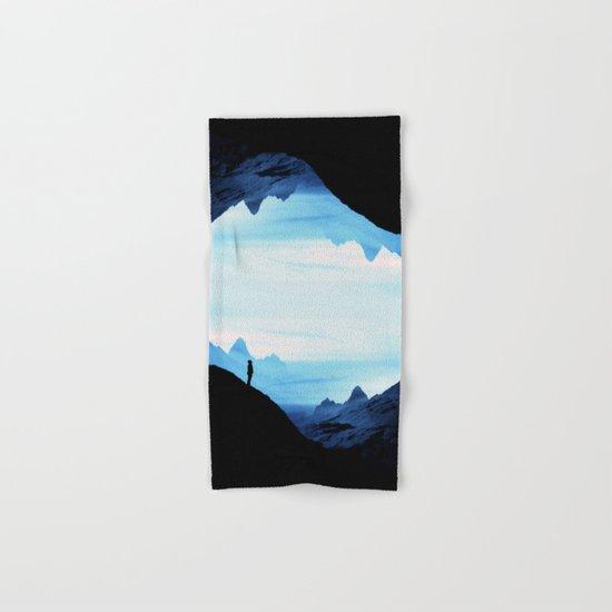 Blue Wasteland Isolation Hand & Bath Towel