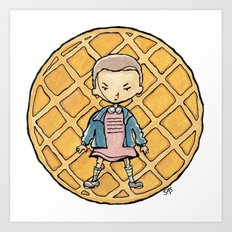 Stranger Things - Eleven Art Print