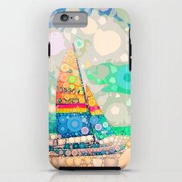 Siesta Key, FL - Sailing iPhone Case