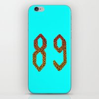 number iPhone & iPod Skins featuring number  by giol's