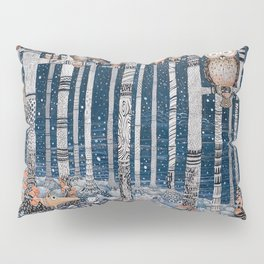 Winter forest Pillow Sham