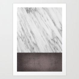 Manly Carrara Italian Marble Art Print
