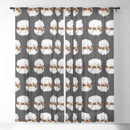 Magical Little Owl Sheer Curtain