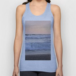 Looking at the sea.... Magnetic waves Unisex Tank Top