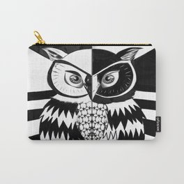 Yin and Yang Owl Carry-All Pouch