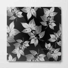 Elegant Leaves Metal Print