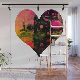My Heart, My Love Wall Mural