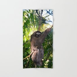 Three toed Sloth Hand & Bath Towel
