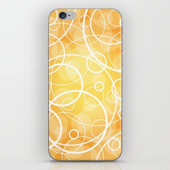 Hard Line Bokeh iPhone & iPod Skin