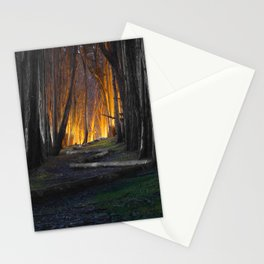 Haunted Forest and Andrew Goldsworthy Sculpture Stationery Cards