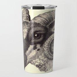 Ram's Head Travel Mug