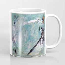 Bowerbird Nest (oil on canvas) Coffee Mug