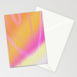 loud vibrantness Stationery Cards