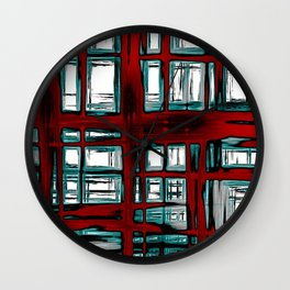 Colorful 4 Wall Clock