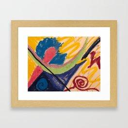 Kara - Energy Art Framed Art Print