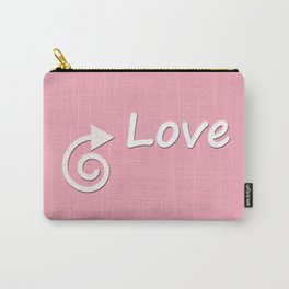 This Way Love Carry-All Pouch