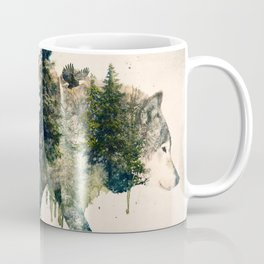 Wolf is the Pride of Nature Coffee Mug