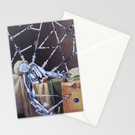 Death and rebirth of Marat Stationery Cards