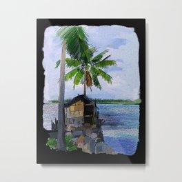 Kerala Coconuts - 186 Metal Print