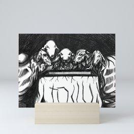 La res sesión Mini Art Print