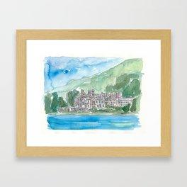 Ireland Kylemore Abbey Connemara County Galway Framed Art Print