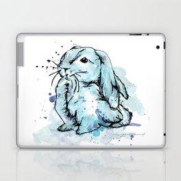 Blue rabbit Laptop & iPad Skin