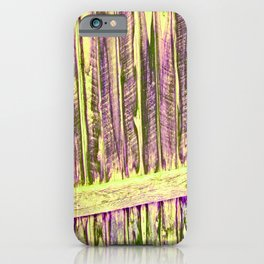 Yellow Abstract iPhone Case