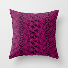 DELONIX 2 Throw Pillow
