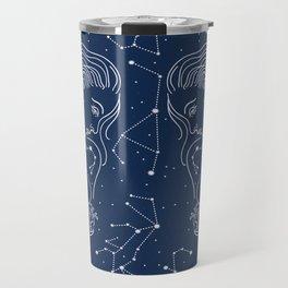 Libra zodiac sign Travel Mug