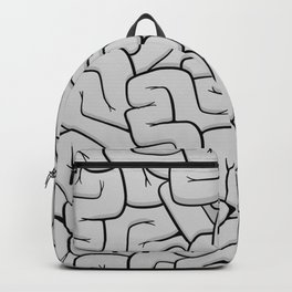 Guts or Brains - Grey Backpack