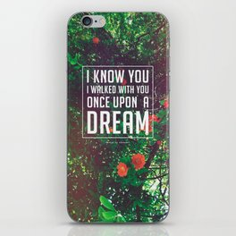 Once upon a dream iPhone Skin