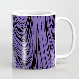 Ultraviolet Marble Coffee Mug