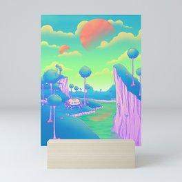 Planet Namek Mini Art Print