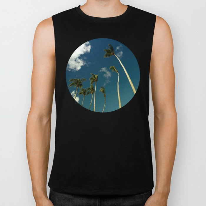 Coconut Trees Biker Tank