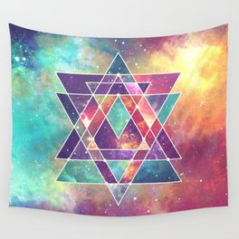 Sacred Geometry (Connection) Wall Tapestry