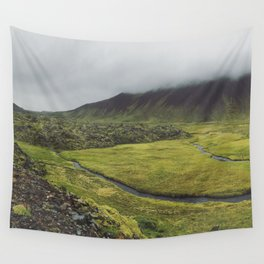 green for days Wall Tapestry