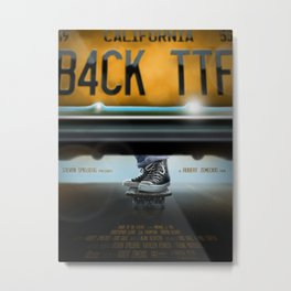 Back To The Future- All Star Metal Print