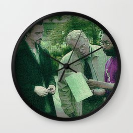 A Script For Ed & Philip By A Spike Wall Clock
