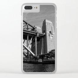Sydney Harbour Bridge Clear iPhone Case